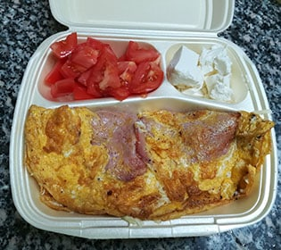 Breakfast Bambola pizzeria delivery