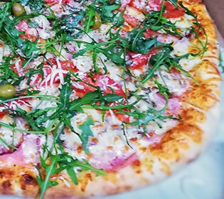 Rocket pizza Bambola pizzeria delivery