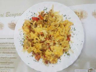 Gurmanski omlet dostava