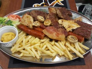 Mint mixed meat for two people 600 grams delivery