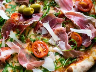 Prosciutto  and  Rocket Pavone delivery
