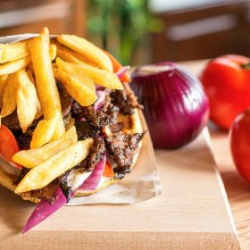 Beef gyros120g delivery