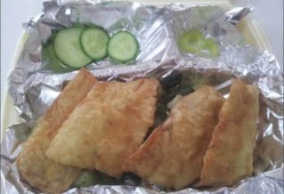 Filet oslića sa krompirom i blitvom dostava