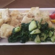 Catfish fillet  Pangasius with potato and mangel