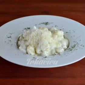 Quatro formaggi pasta