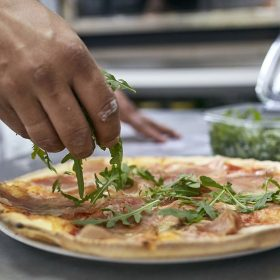 Pizza Pršuta