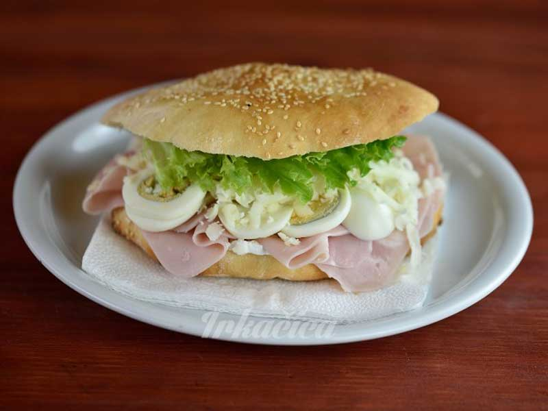 Sendvič klasik šunka dostava