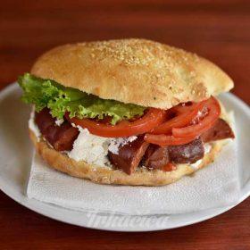 Sandwich smoked sausage
