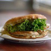 Sandwich grilled chicken fillet