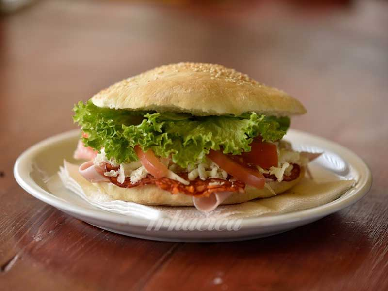 Sandwich moderno delivery