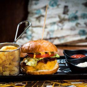 THE Burger klasik- Akcija dostava