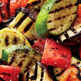 Grilled vegetables kg