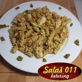 Pasta Pesto with chicken