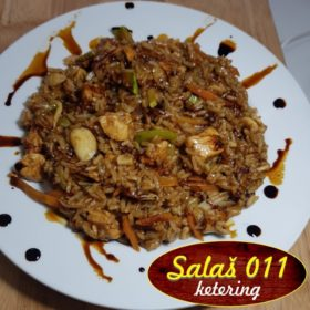 Risotto Oriental with chicken