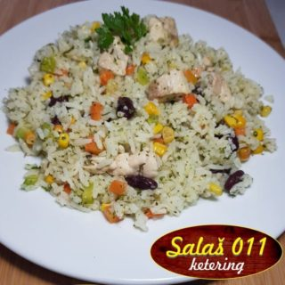 Chicken risotto with vegetables delivery