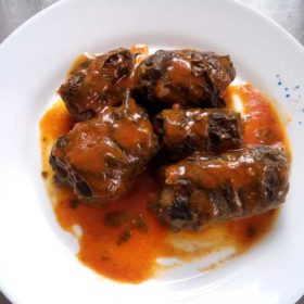 Greens sarma with sour milk delivery