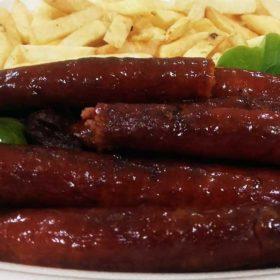 Smoked grill sausage
