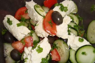 Greek salad Krilca delivery