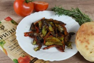 Grilled vegetables Krilca delivery