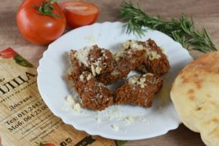 Wings with garlic and parmesan dostava