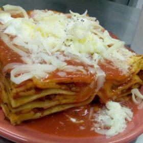 Lasagna alla bolognese dostava