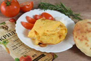 Omlet u lepinji dostava