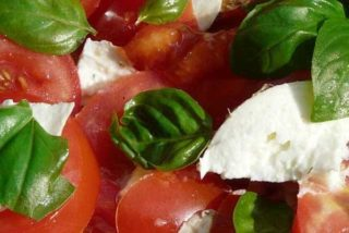 Tomato and cheese salad Krilca delivery