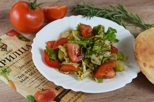Vegetarian salad delivery