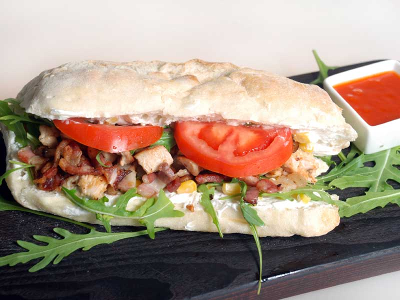 Caesar sandwich delivery