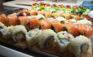 Fusion roll set Fine Sushi Bar delivery