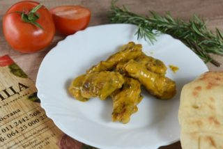 Chicken wings with mustard and honey Krilca delivery