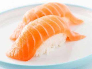 Nigiri salmon delivery