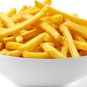 French fries portion