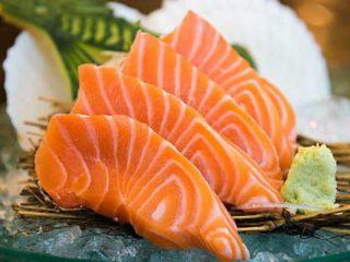 Sashimi salmon delivery