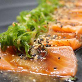 Tataki losos