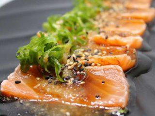 Tataki salmon delivery