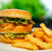 Calimero chicken burger