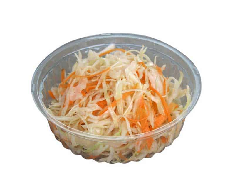 Cabbage salad delivery