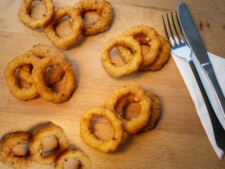 Onion rings McCain delivery