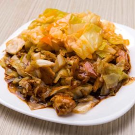 Beef with Chinese cabbage