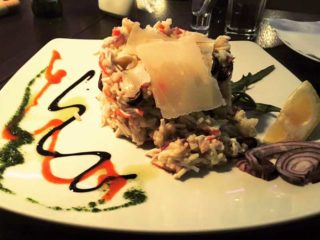 Risotto with seafood Pizza Pub delivery