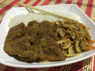 Fried veal delivery