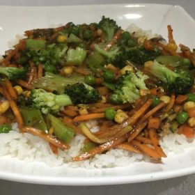 Blanširano povrće u sečuan sosu dostava
