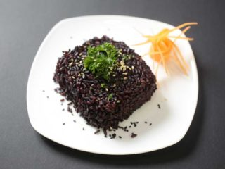 Black rice delivery