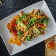 Pad broccoli