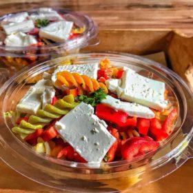 Tricolore pasta delivery