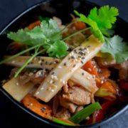 Bamboo pork
