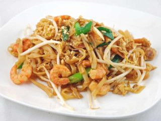Pad Thai shrimp dostava