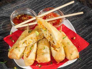 Starter pack 1 - Spring rolls veggie 3kom + 3 sosa Thai Zone dostava