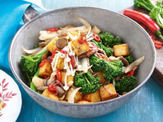 Tofu Fusion with veggies dostava